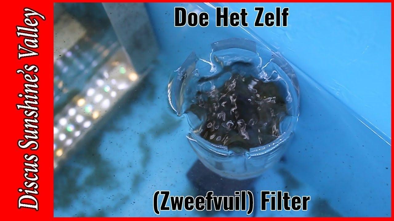 Zweefvuil filter aquarium 3